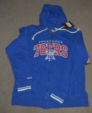 NWT Philadelphia 76ers Mitchell & Ness WOMENS Hoodie Hooded Sweatshirt 2XL