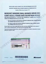 MS Windows SBS 2011 5 CALs OEM Premium Add-On Small Business Server 2YG-00342