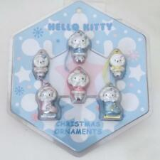 Hello Kitty Holiday Christmas Mini Ornament Set Winter Ice Skate Skating