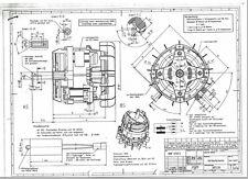 Elektromotor ATB 1,0 kW  - 1000 Watt - 230 V  rechtsdrehend Welle Ø 17 mm
