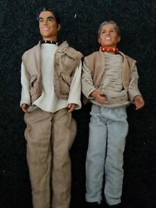 Two Take That Dolls mark own robbie William's
