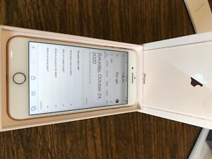 Apple iPhone 8 Plus - 64GB - Gold (Unlocked) with box, see description on back