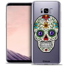 Coque Crystal Gel Pour Samsung Galaxy S8 (G950) Extra Fine Souple Skull Maria's