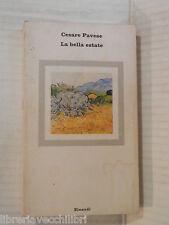 LA BELLA ESTATE Cesare Pavese Einaudi Opere di Cesare Pavese 8 1982 romanzo di