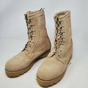 WELLCO Military Combat Boots 08-D-1042 Army Desert Tan VIBRAM Size 6.5 R NEW