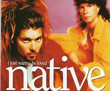 NATIVE | I Just Wanna be loved | Very good condition + Postcards |Free Shipping