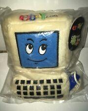 Vintage 2001 eBay Plush Advertising Promo Comdex Computer Bean Bag Great Gift
