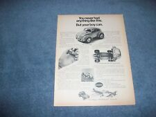 """1971 Cox Baja Bug .049 Gas Powered Volkswagen Vintage Ad """"You Never Had Anything"""