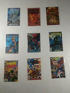 Lot Of 9 Avatar & Dark Horse Comics Coven Bad World G I Joe Tenth Avengelyne