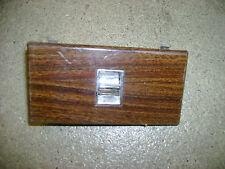 1976 1977 1978 Cadillac Seville Power Window Switch & Wood Grain Trim Single