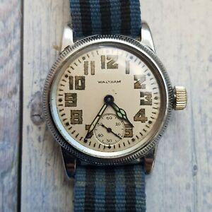 Vintage Waltham U.S. Military Midsize Men's Watch