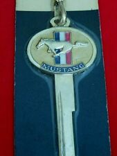 FORD MUSTANG Pony Crest KEY 1964 1965 1966 Ignition Doors Shelby Fastback NIP