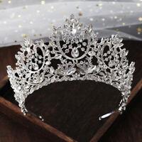 Crown Bridal Tiara Rhinestone Headpiece Crystal Bridal Headband Hair Accessories