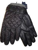 XL Spyder men/'s Ski Snow winter Transverse Black winter Gloves w Spider logo L