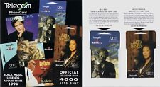 More details for new zealand 1994 black music legends ray charles, b.b.king, louis armstrong