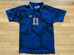 VTG Game Worn Nike Illinois ILLINI PREMIER Soccer Jersey Team Issue #9 Sz L Mens
