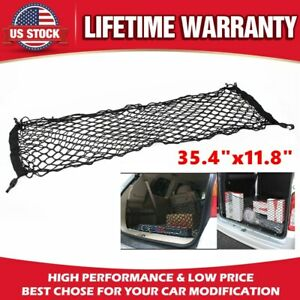 Universal Car Pickup Accessories Rear Envelope Trunk Mesh Cargo Net Storage