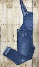 Womens Levis Original Overall Dancing Barefoot Medium Wash Denim Size S
