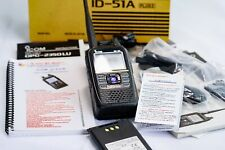 Icom ID-51A PLUS2 Dual-Band D-Star Amateur Ham Radio Bundle with extra battery