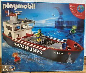Playmobil 4472 * Frachtschiff Kohlefrachter Containerschiff Frachter Top Zust