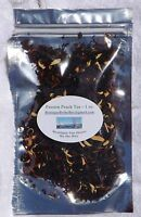 Passion Peach Tea - LOOSE LEAF, 1 to 4 oz Packs - Great Taste served Iced or Hot