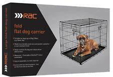 Rac Metal Fold Flat Crate With Plastic Tray Medium 75x54x47cm