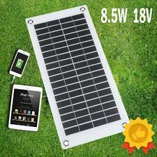 8.5W 18V Solar Charging Panel Charger USB for Mobile Phone iPhone Samsung Laptop