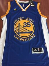 Kevin Durant #35 Golden State Warriors Mens/Youth Basketball Jersey