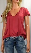 JOIE Sorel Embroidered Yoke Top Size X Small