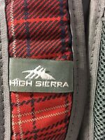 HIGH SIERRA Red & Navy Blue Hiking Backpack Outdoors School Book Computer Bag