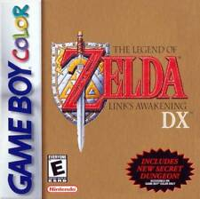 Legend Of Zelda Link's Awakening DX Gameboy Color Great Condition Fast Shipping