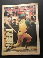 1970 Sporting News OAKLAND A's Felipe ALOU The Hit Collector NO LABEL Free Ship