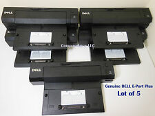 Lot of 5 Dell Eport Plus Pro2x Latitude E6400 E6410 E6420 E6500 E6520