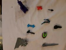 Vintage G1 TRANSFORMERS Weapon Armor Lot OF 11 1980'S lot # 11