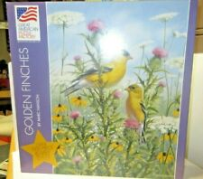 GREAT AMERICAN PUZZLE FACTORY - OVER 1000 PC  PUZZLE - FINCHES ZGAP-8098