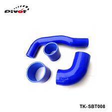 SALE- Silicone Intercooler Turbo Top Y- Pipe Hose kit 4 pcs For SUBARU STi 2004