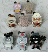 Deebees Collection 2011 WDW Hidden Mickey Series Set Choose a Disney Pin