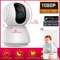 1080P Wireless WIFI Pan Tilt Security IP Camera IR Night Home Baby Pet Monitor