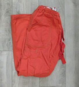 Koi Lindsey Scrub Pants / Size Small Petite / Orange Style 701P