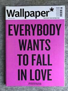 Wallpaper Magazine : August 2019 : Douglas Coupland Cover : NEW