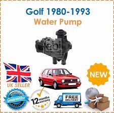 Si adatta VW Golf mk1 1.6 1.8 GTI 1.6d 1.6td 1980-1993 Water Pump & Alloggiamento Posteriore!