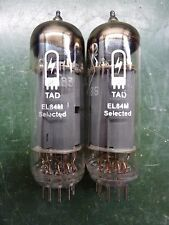 Tad el84m 6n14n riflettore Russian Military vacuum tubes. tested good.
