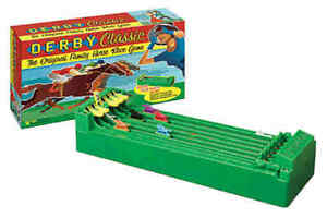 Derby Classic 6-Horse Race Game Kentucky Desktop Decision Gambling Battery Toy