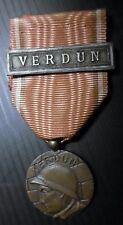 MÉDAILLE DE VERDUN Modèle ANONYME - ON NE PASSE PAS - GUERRE 1914-1918