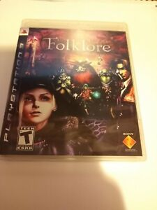 Folklore (Sony PlayStation 3, 2007) US Version, Complete, Great condition