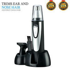 Nose Ear Hair Trimmer Face Neck Eyebrow Clipper Personal Grooming Set Unisex