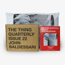 JOHN BALDESSARI LIMITED EDITION 2 Pillowcase Set Brand New in Box Thing SOLD OUT