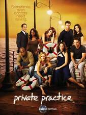 PRIVATE PRACTICE (TV) Movie POSTER 11x17 E Kate Walsh Tim Daly Taye Diggs Amy