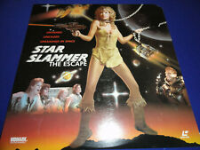 Laserdisc Star Slammer The Escape Sci Fi Exploitation Movie aka Prison Ship