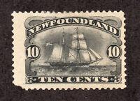 Newfoundland - Unitrade# 59 MH (nibbed cnr perf)    /     Lot 0820862